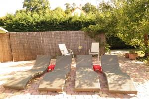 Photos piscine et jardin chambres d'hôtes